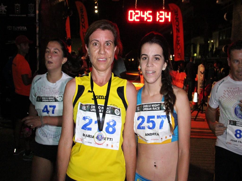 PODIO FEMENINO 5 KM