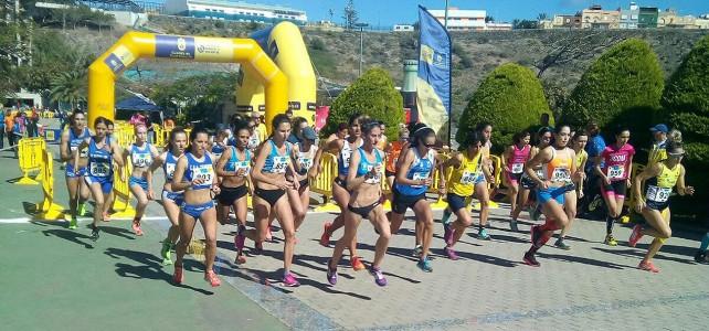 Agoney Díaz y Marta Arnay, campeones de Canarias de cross corto