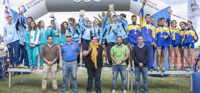 Éxito de los XXXV Campeonatos de Canarias de Campo a Través en Edad Escolar organizados por el Gobierno de Canarias