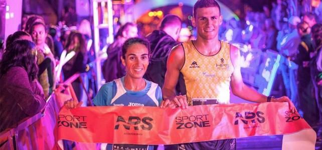 Francisco Cabrera y Aroa Merino, campeones de Canarias de 10K