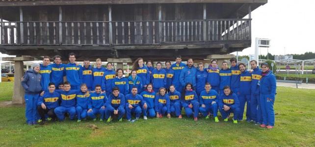 La selección canaria cumple en el Nacional de Campo a Través