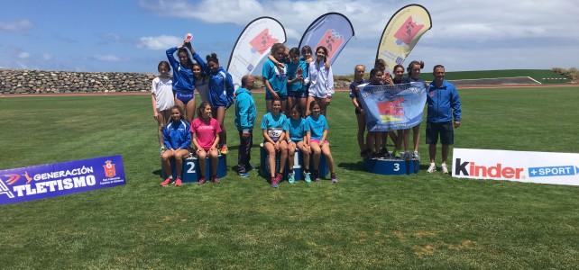 Maxoathlon Fuerteventura y Clator Orotava, campeones de Canarias infantiles por equipos