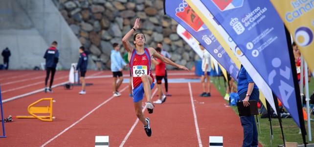 El atletismo base se cita en Tenerife