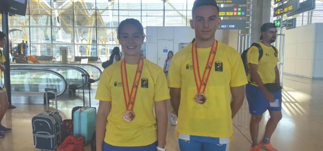 Dos medallas de bronce en el Campeonato de España Cadete por Selecciones Autonómicas