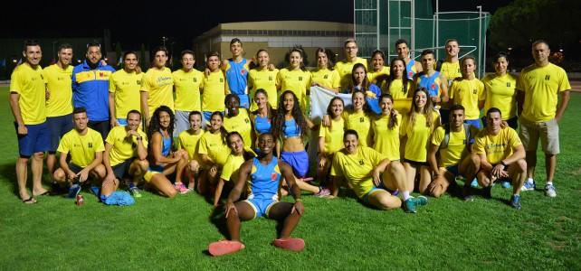 Duodécima posición para Canarias en el Campeonato de España Absoluto de Federaciones Autonómicas