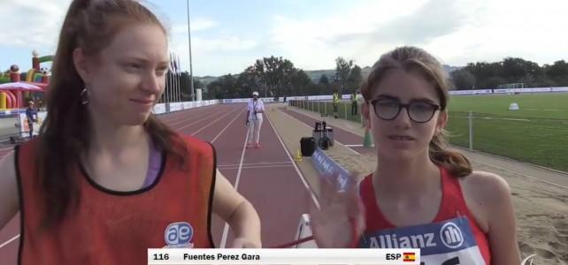 Gara Fuentes suma dos medallas en el Mundial Júnior para ciegos